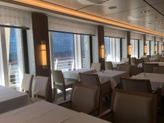 Main dining room view on the Viking Sun