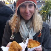 Samosas from Punjabi. They were a dollar a piece on the tour and so good!
