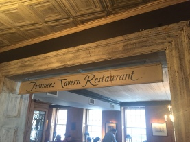 The Fraunces Tavern Restaurant