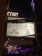 Broadway! Heading to the Cort Theater. 2
