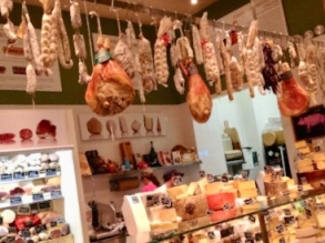 A selection of the variety at this vibrant Italian marketplace
