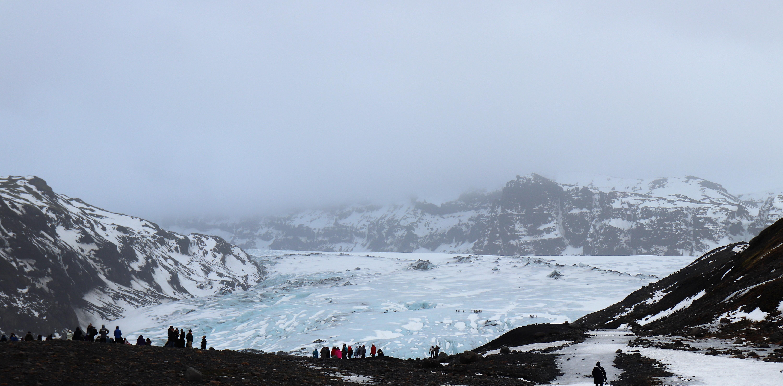 myrdalsjokull Ice Glacier iceland