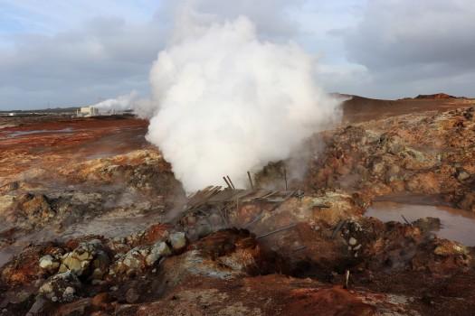 Gunnuhver Hot Spring Iceland