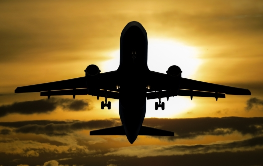 Canva - Silhouette of Airplane during Sunset