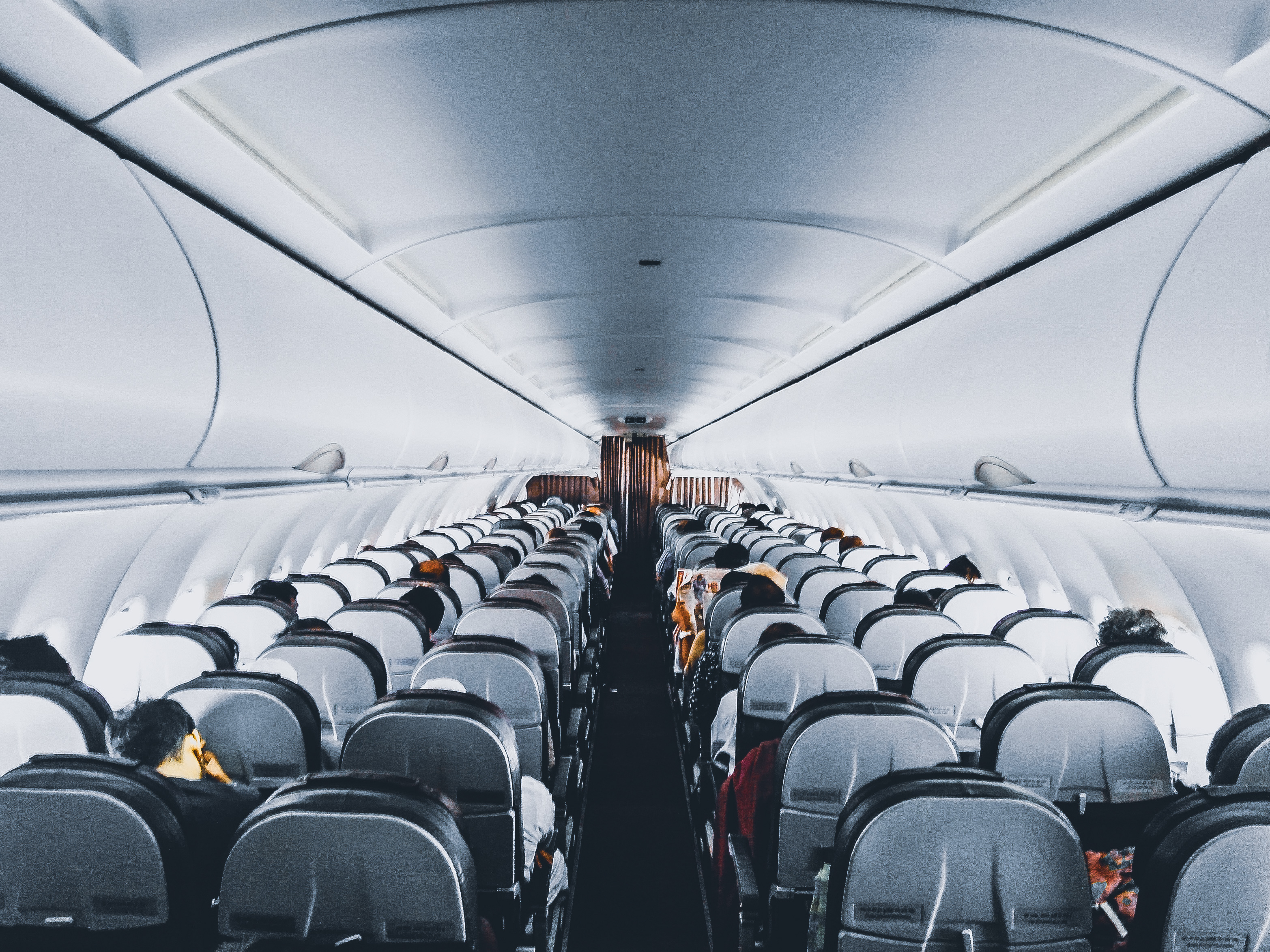 Canva - People Inside Commercial Air Plane